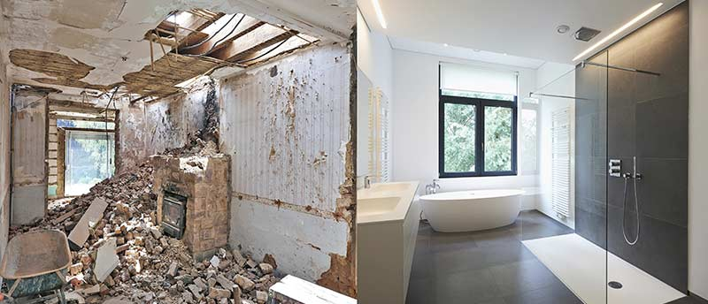 renovation salle de bain Forest